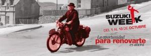 Llega la CUARTA EDICION de la SUZUKI WEEK  a MOTOCYCLES, del 01 hasta el 13 de Octubre del 2012