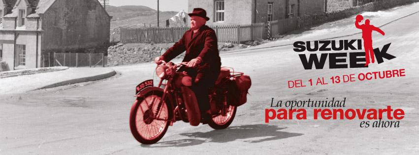 CUARTA EDICION de la SUZUKI WEEK en MOTOCYCLES del 01 hasta el 13 de Octubre del 2012