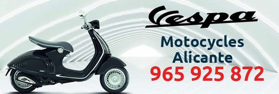 Motos Vespa Alicante Motocycles Alicante